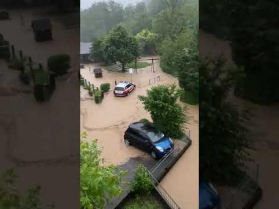 Hochwasser in Zunzgen